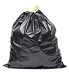 A black bag of rubbish