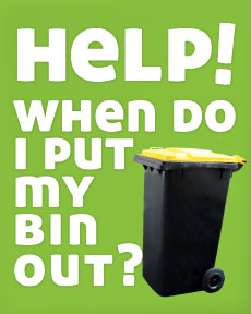 When do I put my bin out?