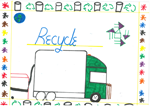 Student poster on recycling
