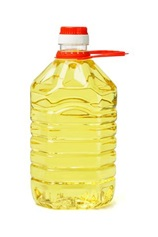 Bottle of cooking/vegetable oil