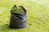 Bag of garden waste