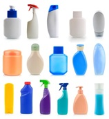 A collection of plastic bottles